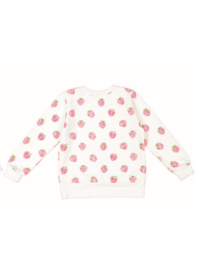 Sal & Pimenta Sal & Pimenta Pink Patch Sweatshirt