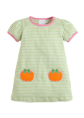 Little English Little English Pumpkin TShirt Dress