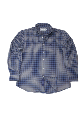 Properly Tied Properly Tied Lil Ducklings Classic Flannel Peak Blue/Gray