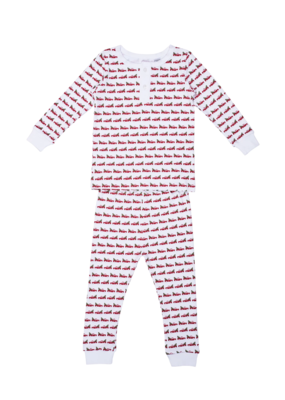 Lila and Hayes Lila and Hayes Jack Pajama Christmas Tree Truck Red Thread