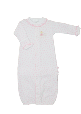 Magnolia Baby Magnolia Baby Ballet Duet Embroidered Ruffle Converter Pink