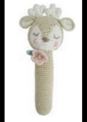 Albetta Albetta Crochet Deer Stick Rattle