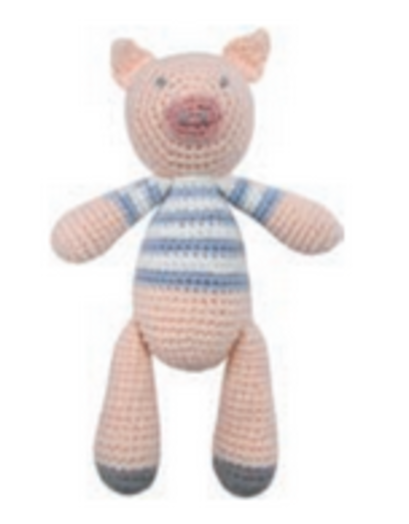 Albetta Albetta Crochet Pig Rattle
