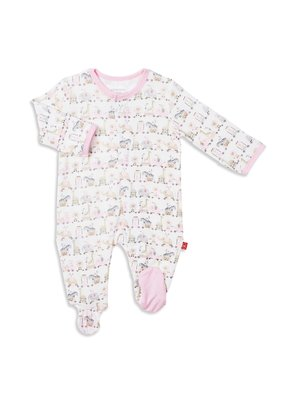 Magnetic Baby Magnetic Me Pink Taj Express Modal Magnetic Footie