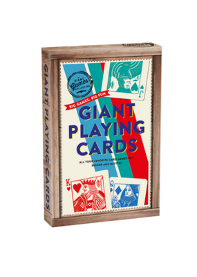 Professor Puzzle Giant Playing Cards