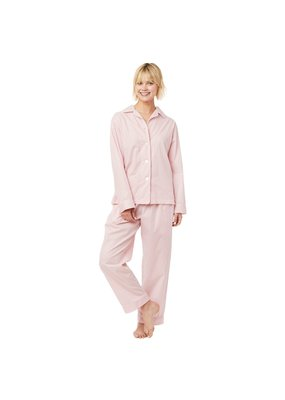 The Cat's Pajamas The Cat's Pajamas Simple Stripe Luxe Pima Pajama
