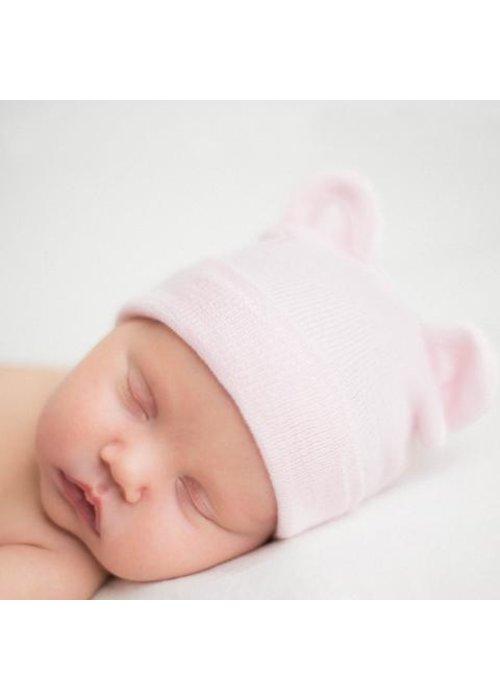 ilybean Ilybean Pink Bear Hat Beanie