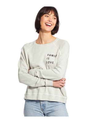 "Good Hyouman Good HYOUman Smith-is Retro Pullover In Natural ""FamilyisLove"""