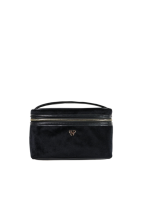 purse n PurseN Getaway Train Case Black Velvet