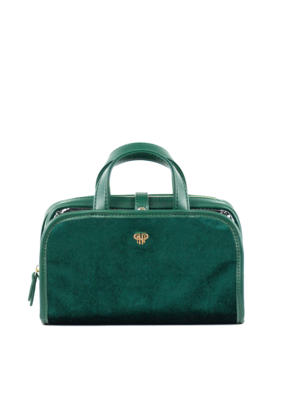 purse n PurseN Getaway Travel Case Velvet Emerald