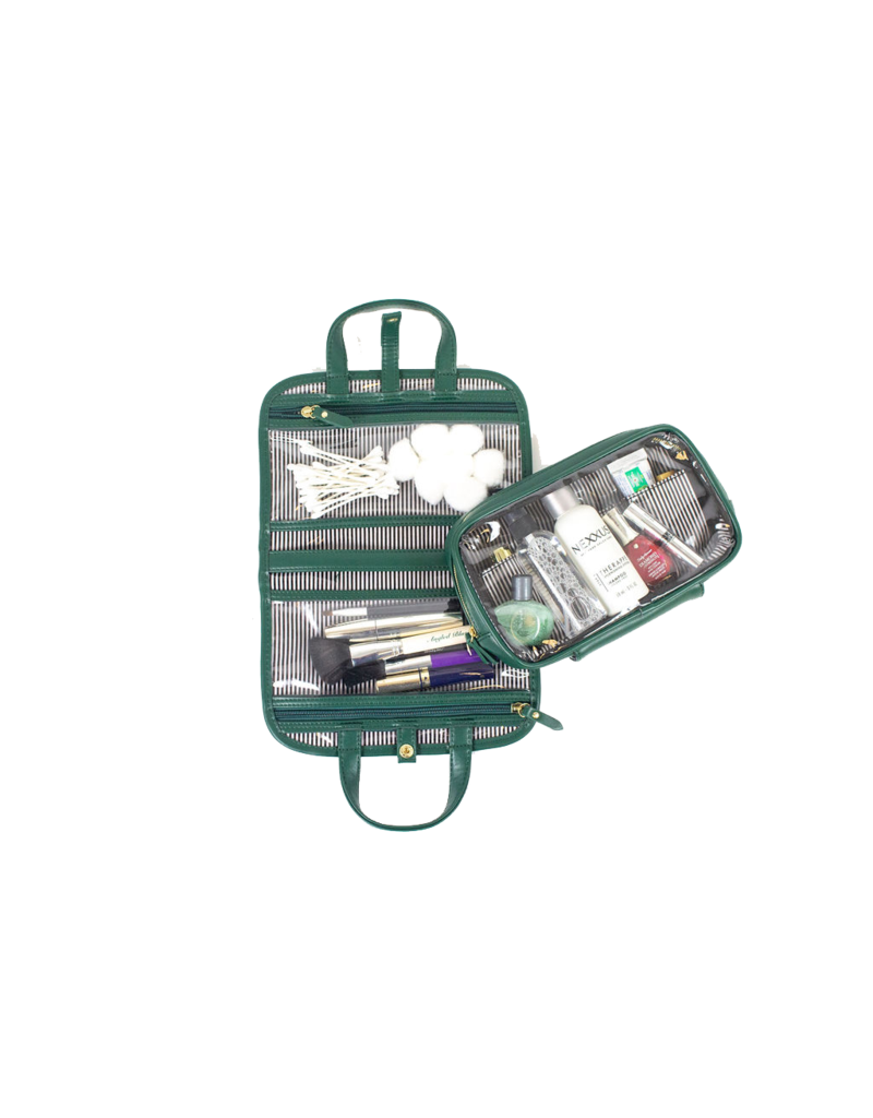 purse n PurseN Getaway Travel Case Velvet Emerald