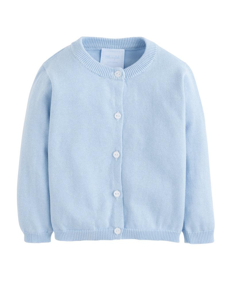 Little English LE Essential Cardigan Light Blue