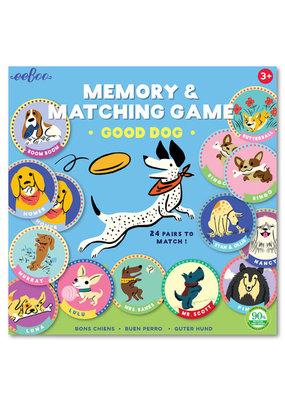 EEBoo EEBoo The Good Dog Memory Game
