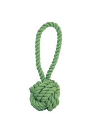 Harry Barker Harry Barker Rope Tug & Toss Small Green