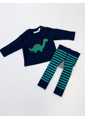 Jojo Mama JoJo Maman Bebe Dino Top and Leggings