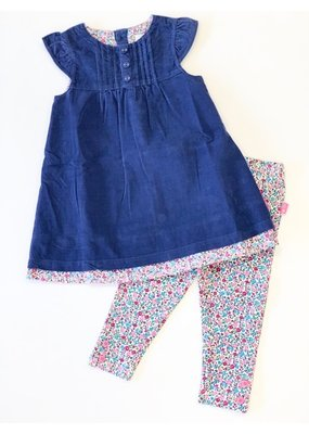 Jojo Mama JoJo Maman Bebe Pretty Cord Dress and Legging Set