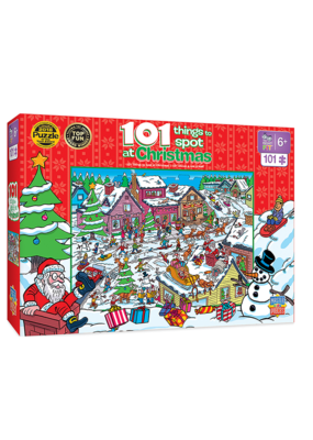 masterPieces MasterPieces 101 Things To Spot Christmas Puzzle
