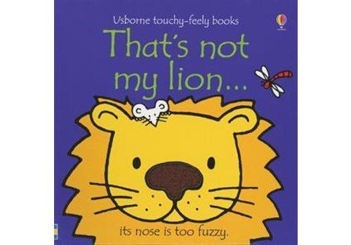 Usborne Usborne That's Not My Lion