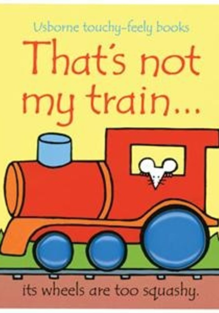 Usborne That's Not My Train