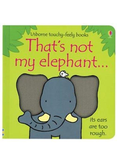 Usborne Usborne That's Not My Elephant