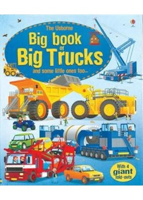 Usborne Usborne Big Book of Trucks