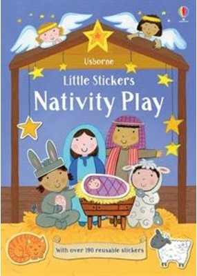 Usborne Little Stickers Nativity Play