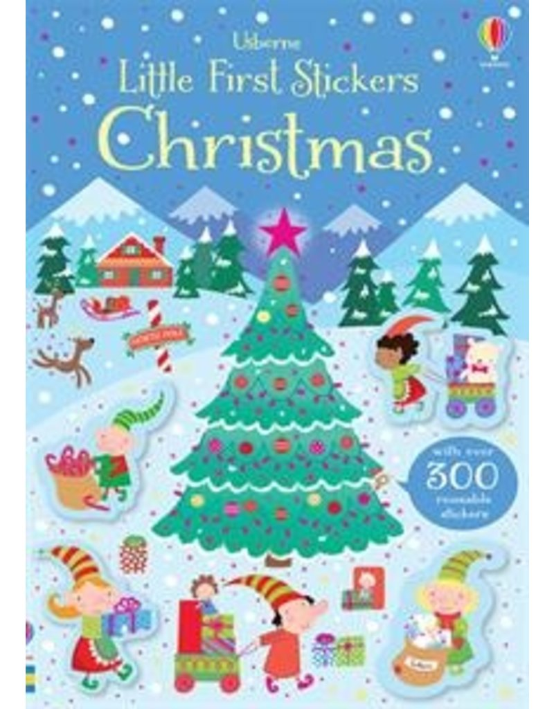 Usborne Usborne Little First Stickers: Christmas