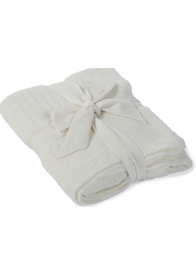 Barefoot Dreams Barefoot Dreams CozyChic Lite Ribbed Blanket (Baby) Pearl