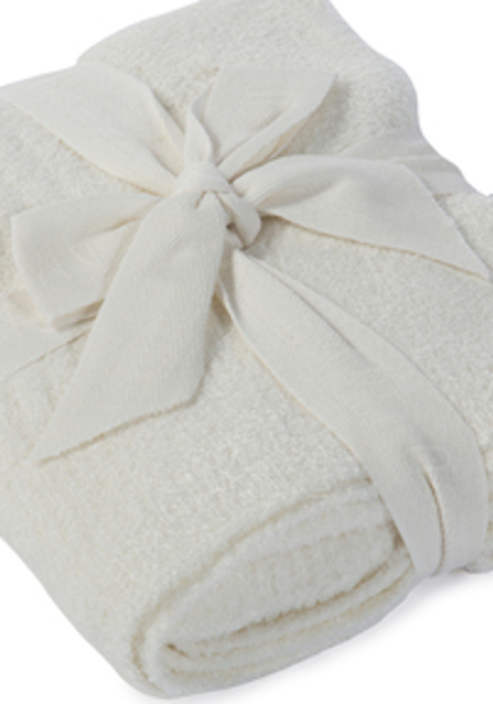 Barefoot Dreams CozyChic Lite Ribbed Blanket (Baby) Pearl