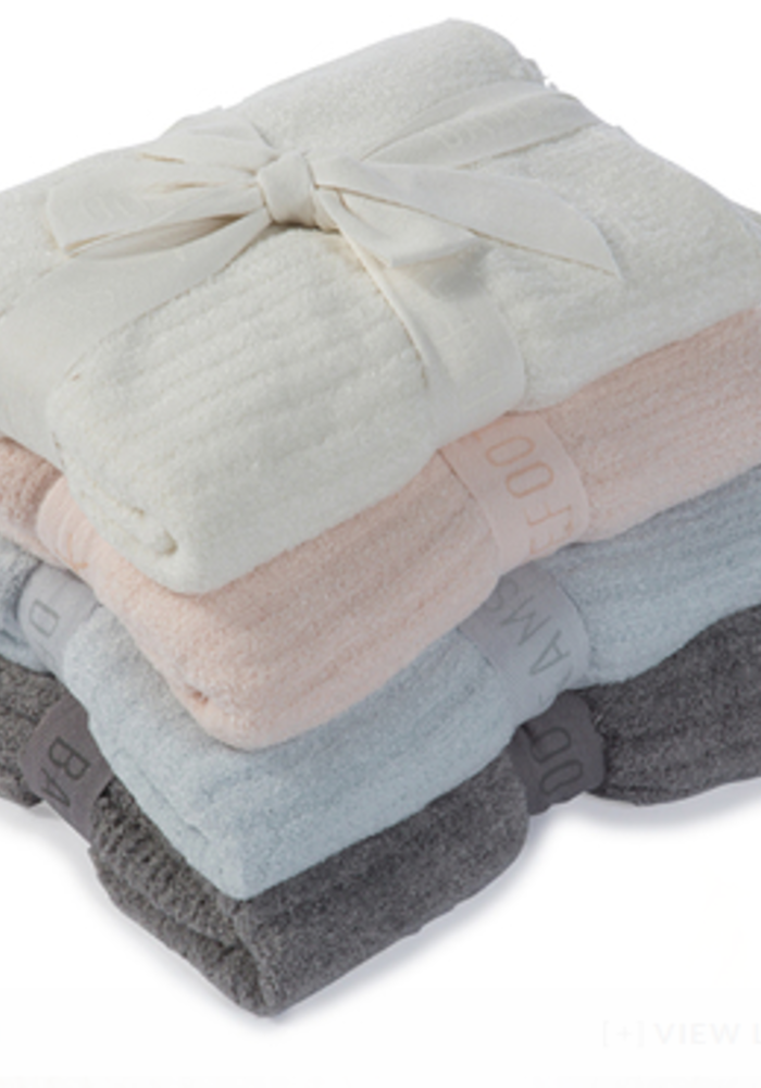 Barefoot Dreams Cozychic Lite Ribbed Blanket (Baby) Blue