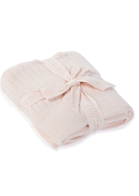 Barefoot Dreams Barefoot Dreams Cozychic Lite Ribbed Blanket (Baby) Pink