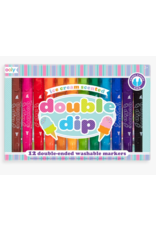ooly Ooly Double Dip Double-Ended Scented Markers (set of 12)