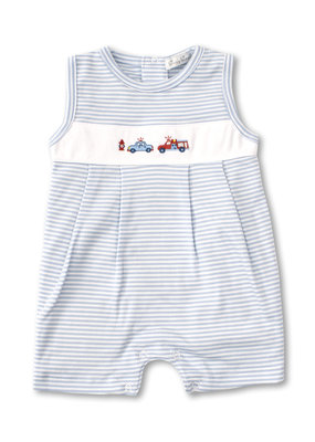 Kissy Kissy Rescue Team Sleeveless Playsuit Blue Stripe