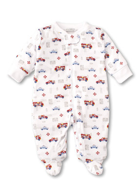 Kissy Kissy Rescue Team PRT Footie with Zip
