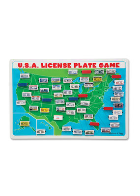 Melissa & Doug Melissa & Doug U.S.A. License Plate Game Travel Game