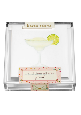"Karen Adams Karen Adams Acrylic Box Enclosures ""Margarita"""