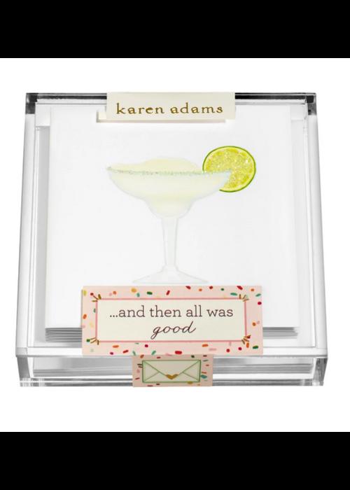 """Karen Adams Karen Adams Acrylic Box Enclosures """"Margarita"""""""