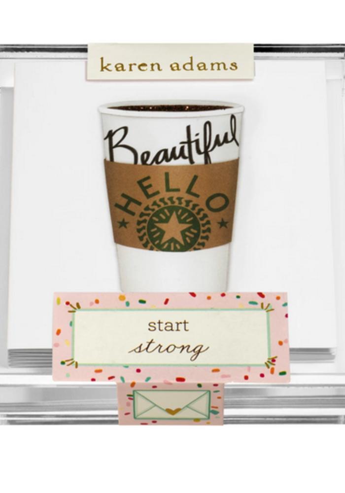 """Karen Adams Acrylic Box Enclosures """"Coffee"""""""