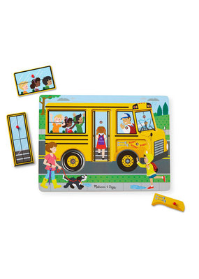 Melissa & Doug Wheels on the Bus Sound puzzle