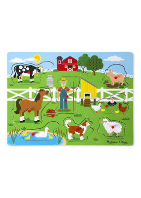 Melissa & Doug Old MacDonald Farm Sound puzzle