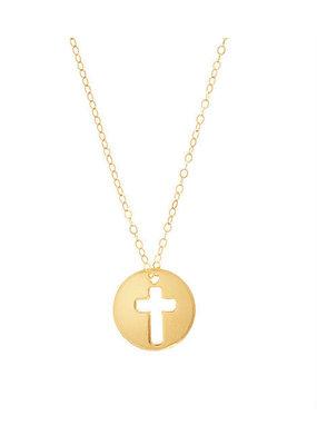 """ENewton ENewton 16"""" Necklace Gold - Blessed Charm"""
