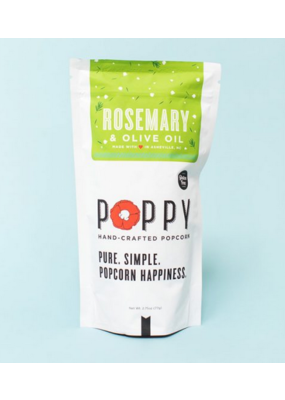 Poppy Poppy Rosemary & Olive Oil Popcorn