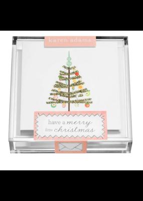 "Karen Adams Karen Adams Acrylic Box Enclosures ""Christmas Tree"""