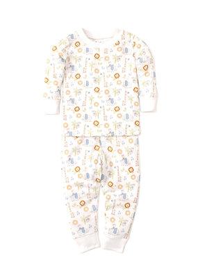 Kissy Kissy Kissy Kissy Pajama Set Snug PRT Jungle Joy Multi