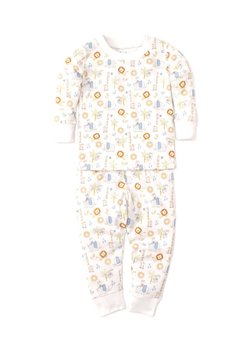 Kissy Kissy Kissy Kissy Pajama Set Snug PRT Jungle Joy Multi