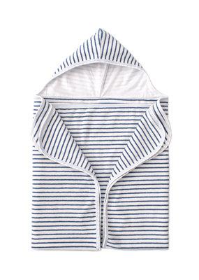 Kissy Kissy Kissy Kissy Terry Beach Towel STR  Whale of a Time Blue