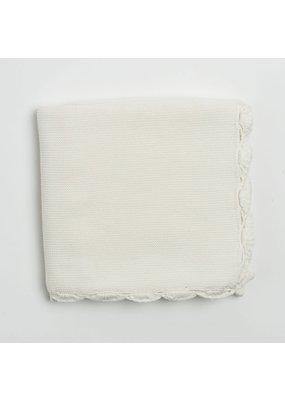 Zestt Organics Zestt Organics Heirloom Organic Cotton Baby Blanket Soft White