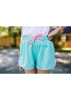 SET SET Emily Everyday Short Teal w/Pink Tie