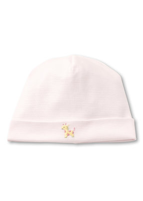 Kissy Kissy Kissy Kissy Hat w/Hand EMB STR SCE Jungle Fun Pink