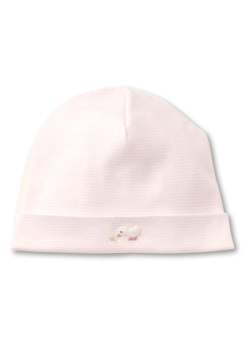 Kissy Kissy KK Hat w/Hand Emb STR SCE Duckies Pink